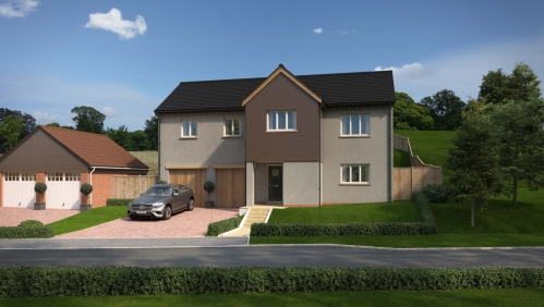 Tarka View Lapford 4 Bedroom Detached House