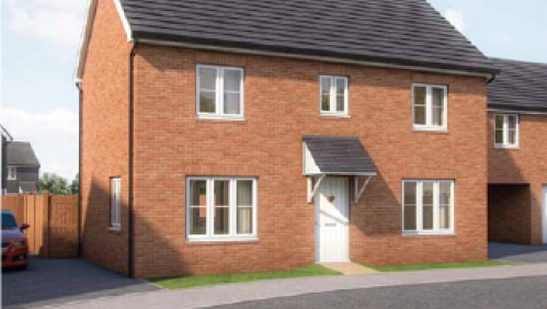 Plot 125 The Tors CGI