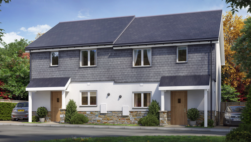 Plots 36 and 37 Harbour Reach Fowey