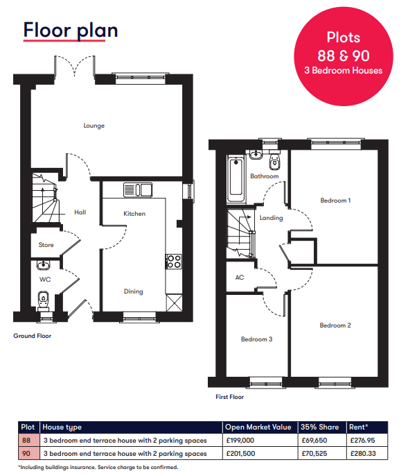 Chulmleigh 2 bedroom floor plan