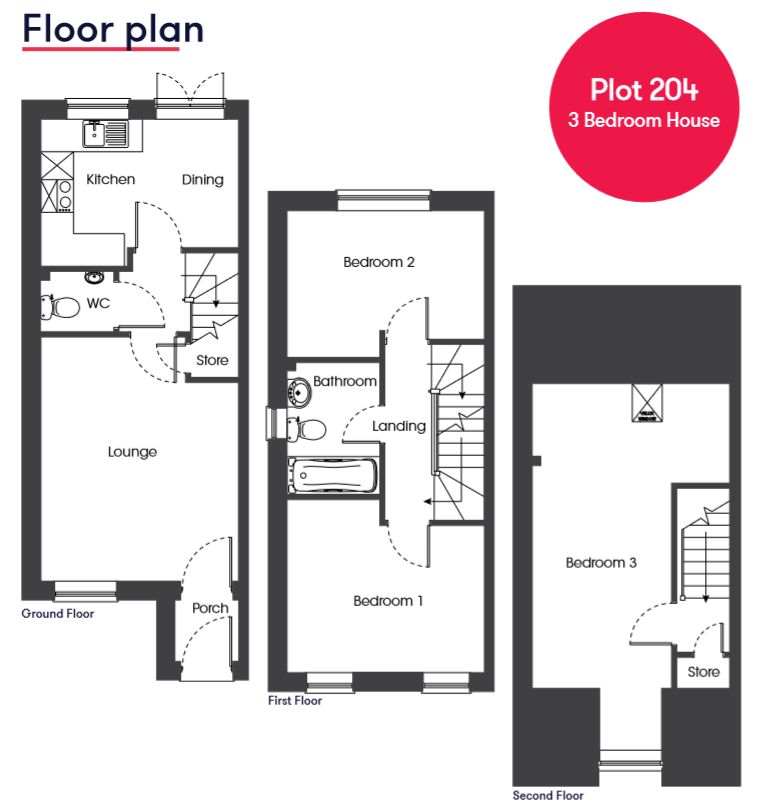 Cranbrook Galileo Plot 204 Floor Plan