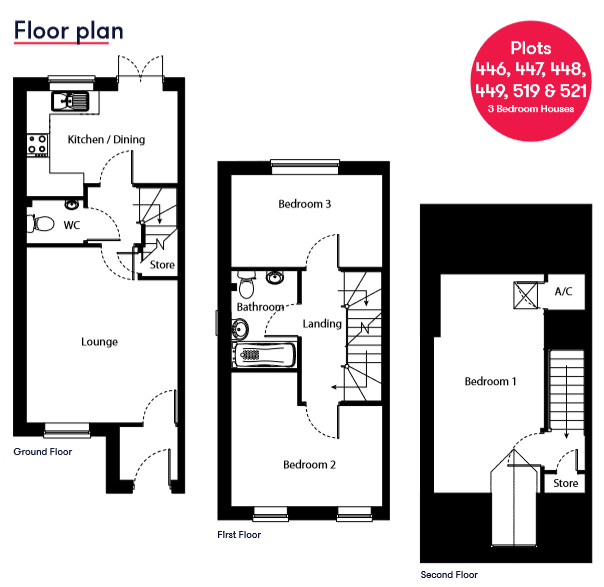 Saltram Meadow Plot 521 Floor Plan