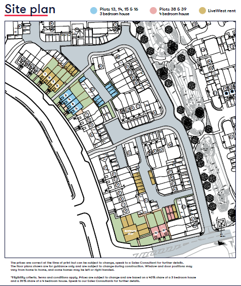 Ashworth Place Site Plan