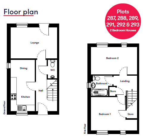 Plot 291 Cranbrook Galileo Floor Plan