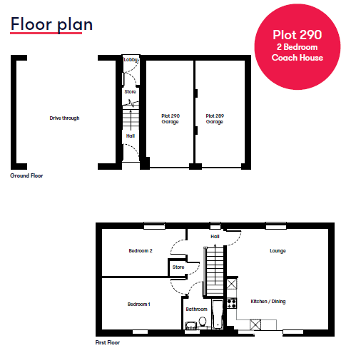 Plot 290 Floor Plan Cranbrook Galileo