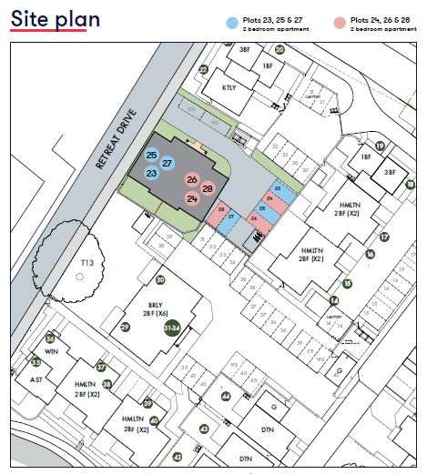 Site Plan The Chasse