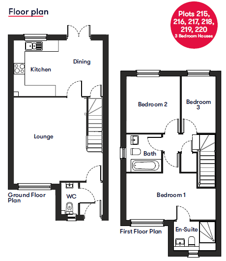 3 Bedrooms Kings Gate