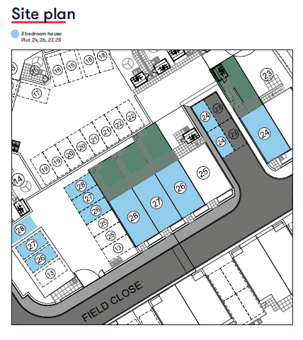 Site Plan Paignton Road