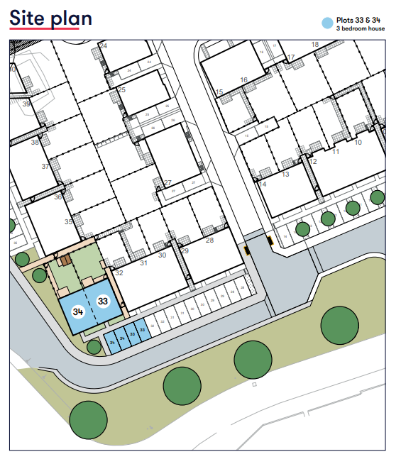 Site Map Bevin Gardens Copplestone