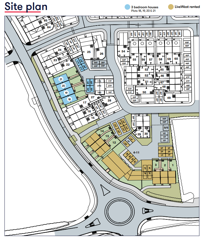 Site Map Gardenia Place Cranbrook