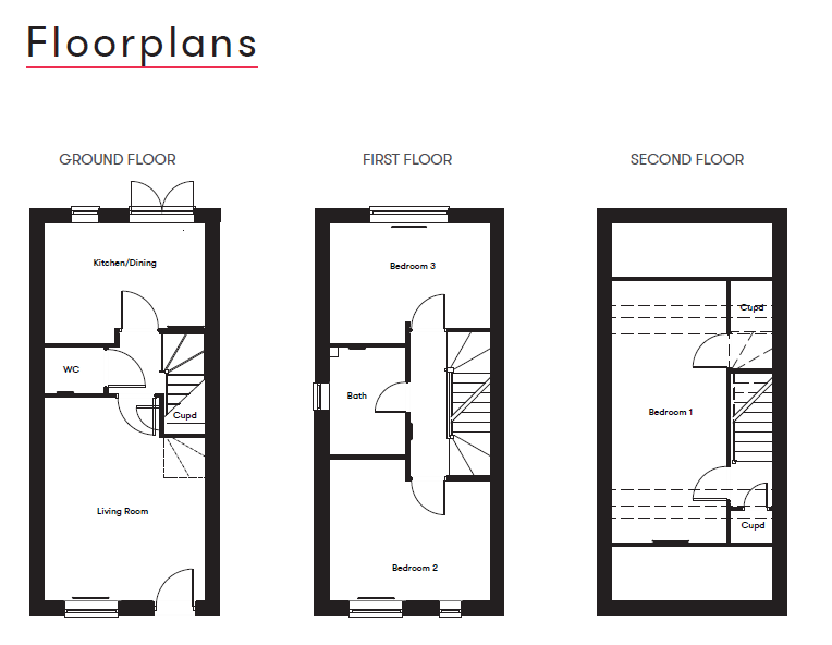 Floor Plan Eve Parc Plot 67