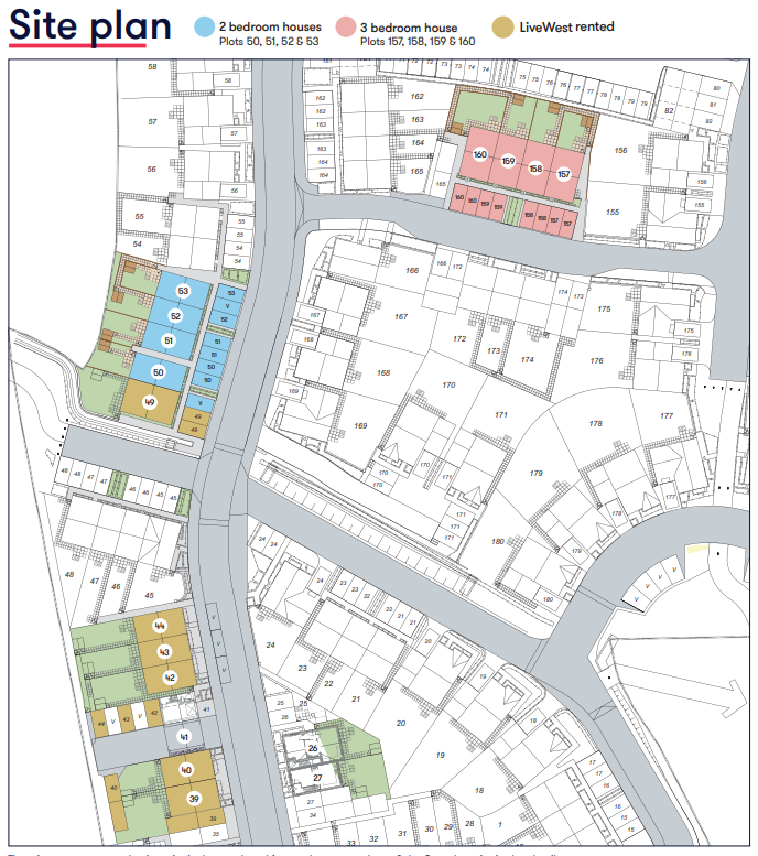 Site Map Kingfisher Green Cranbrook