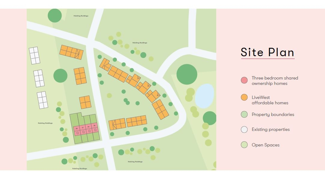 Kingfisher Green Site Map Shared Ownership