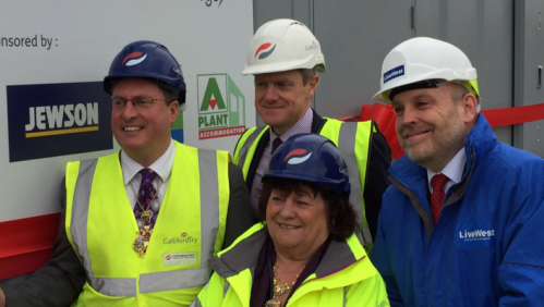 The Lord Mayor of Exeter marked the launch of a new Community & Skills Academy in Cranbrook aimed at promoting employment opportunities in the construction industry.