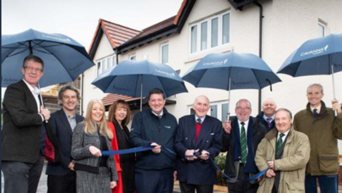 Show home opening marks a new community of homes in East Devon