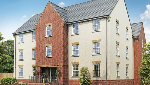 Monkerton 2 bedroom shared ownership apartments