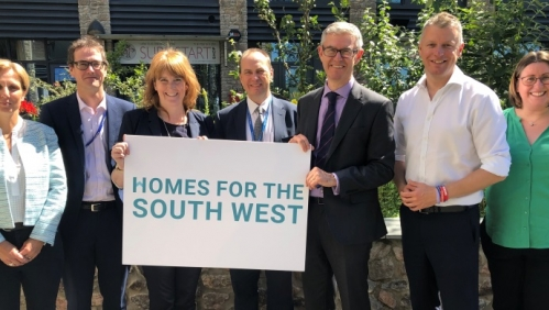 Visit from Housing Minister
