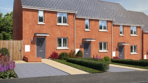 LiveWest new homes in Kingsteignton